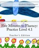 Five Minutes to Reading Fluency: Practice Level 4.1 Aligne