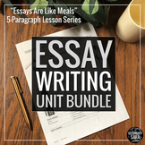 Five Paragraph Essay Bundle: Apply to ANY Essay Assignment!