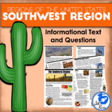 Regions of the United States: Southwest, Informational Tex