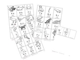 Flash Cards A-Z in Spanish Old Maid & GO FISH