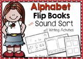 Alphabet Flip Books and Sound Sort for Beginning Sounds