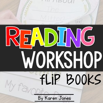 Flip Books for Reading Workshop {to use with ANY text!}