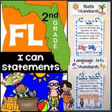 Florida Standards - 2nd Grade Math & ELA Bundle