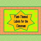 Flower Labels : for nametags, stations, and other goodies,