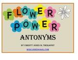 Flower Power Antonyms for Grade 3 to 5