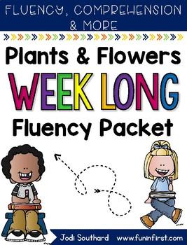 Flowers Weeklong Fluency Packet - Week 1 of April Packet