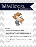 Fluency Card Game