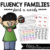 Fluency Families {short u words}