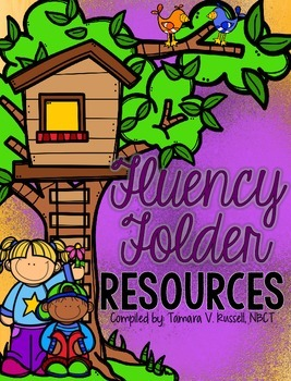 Fluency Folder Resources: PRIMARY EDITION