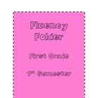 Fluency Folder for first grade