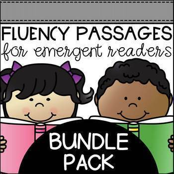 https://www.teacherspayteachers.com/Product/Fluency-Passages-for-Early-Readers-BUNDLE-Pack-1677123