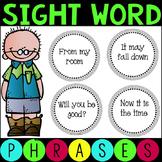 Sight Word Fluency Phrases Set 1