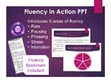 Fluency in Action PowerPoint! Teaches the Fantastic Five o