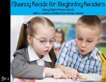 Fluency Reads-Primer Words-First Grade and Fabulous