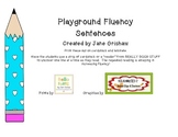 Fluency Sentences from the Playground