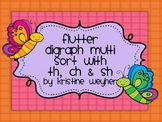 Flutter Butterfly Multi Sort Digraph th ch sh Game Literac