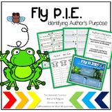 Fly P.I.E.--Identifying Author's Purpose Common Core Liter