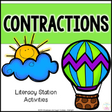 Contractions ~ Literacy Station Activities