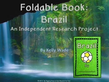 Foldable Book ~ Brazil