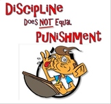 Discipline Not Punishment - Foldable Pamphlet