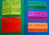 Foldables Organizers Bundle Units 5 and 6 8th Grade Common