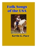 Folk Songs of the USA Songbook Sheet Music (PDF download)