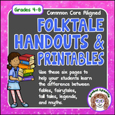 Folktales: Fairytales, Fables, Tall Tales, Legends, and Myths
