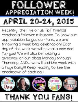 Follower Appreciation Week