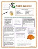 Following Directions Activity: Goblin Cupcakes (Reading Co