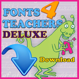 Fonts 4 Teachers Deluxe (Download Only)