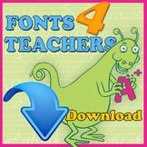 Fonts 4 Teachers Regular (Download Only)