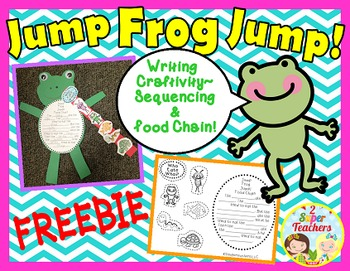 Food Chain FREEBIE~Jump Frog Jump!