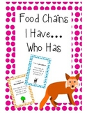 Food Chain I have...Who has