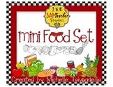Food Clip Art Set by The 3AM Teacher
