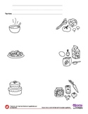 Food / Comida - Spanish Lesson (Difficult / Age 4)