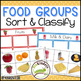 Food Groups: Sort & Classify