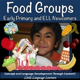Food Groups Thematic Unit for Kindergarten (Aligned with CCSS)