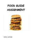 Food Guide Assignment