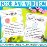 Food and Nutrition - a healthy eating unit