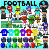 Football Clip Art Bundle
