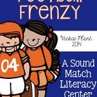 Football Frenzy {A Sound Match Literacy Center}