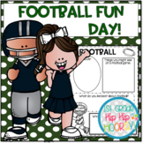 Football Fun Day...Craft, Activities, Snack, Game!