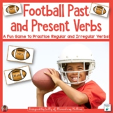 Verbs: Past and Present Football Game