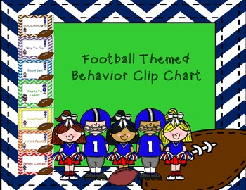 https://www.teacherspayteachers.com/Product/Football-Themed-Behavior-Clip-Chart-728313