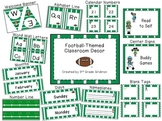 Football-Themed Classroom Decor