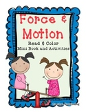 Force and Motion Book & Activities