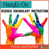 Force and Motion Vocabulary Lesson