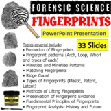 Forensic Science - Fingerprints PowerPoint Presentation