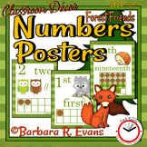 Forest Friends Numbers