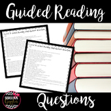 Fountas & Pinnell Guided Reading Questions
